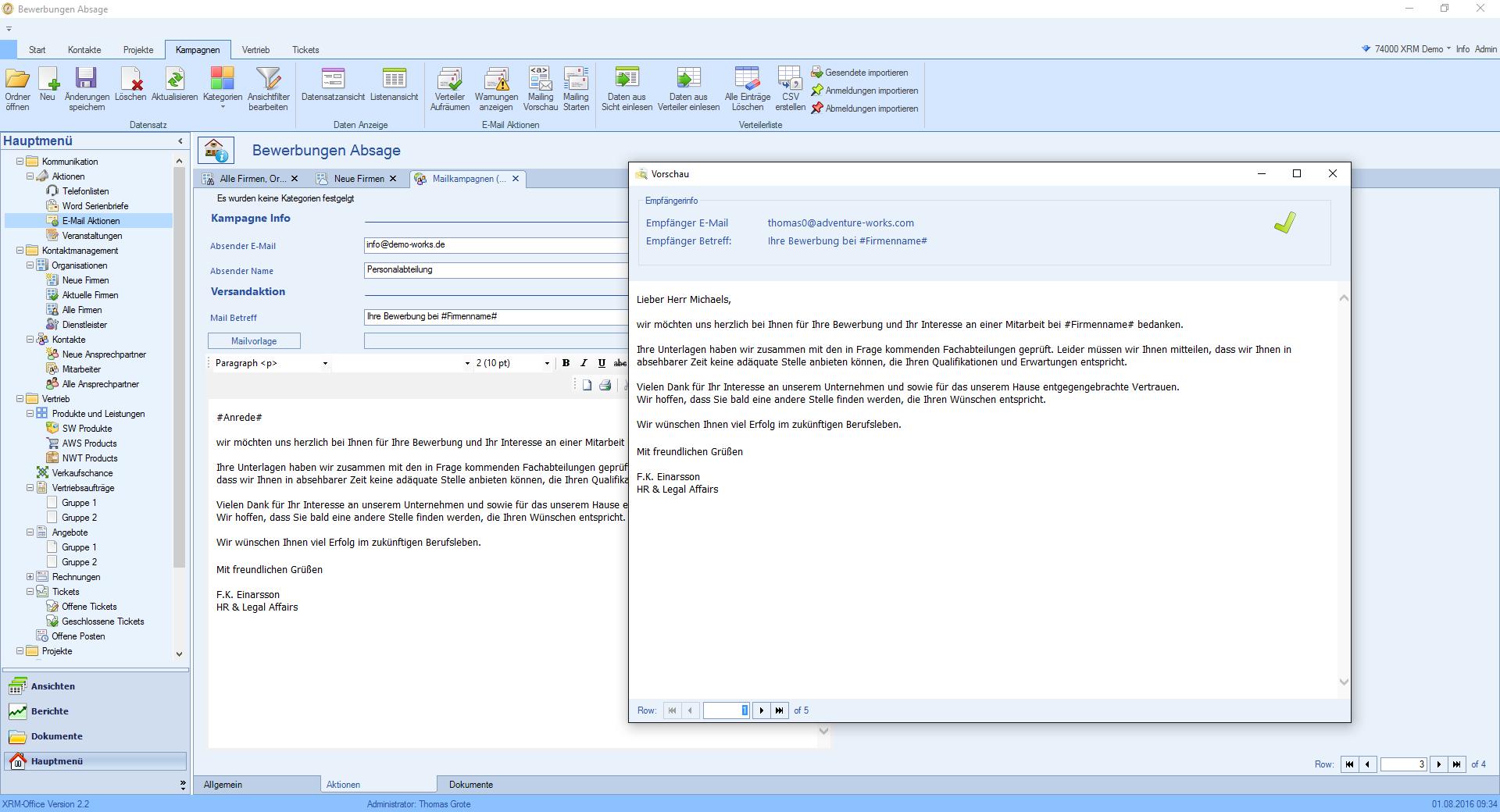 Niedlich Bewerbungsvorlage F R E Mails Senden Fotos - Beispiel ...